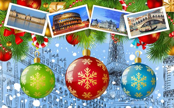 Navidad en Paris y Fin de año en Roma