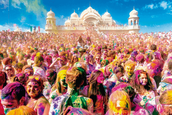 Magia de India con Festival Holi