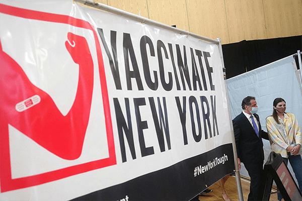 VISITA Y VACUNACIÓN EN NEW YORK 2021